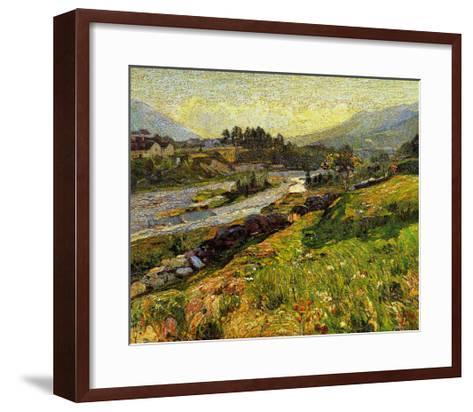 Summer Afternoon-Piero della Francesca-Framed Art Print