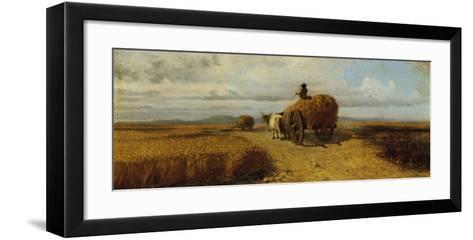 Wheat Field--Framed Art Print