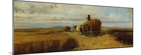 Wheat Field--Mounted Giclee Print