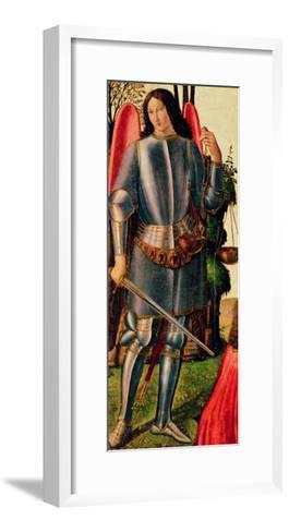 St Michael the Archangel--Framed Art Print