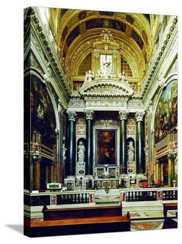 Chiesa Del Gesù, Genoa-Leonardo da Vinci-Stretched Canvas Print