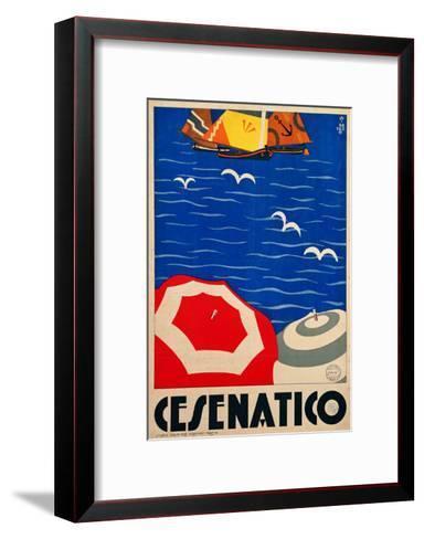 Cesenatico--Framed Art Print
