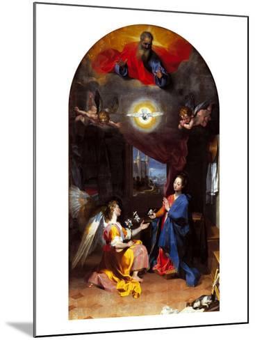 The Annunciation-Leopoldo Metlicovitz-Mounted Giclee Print