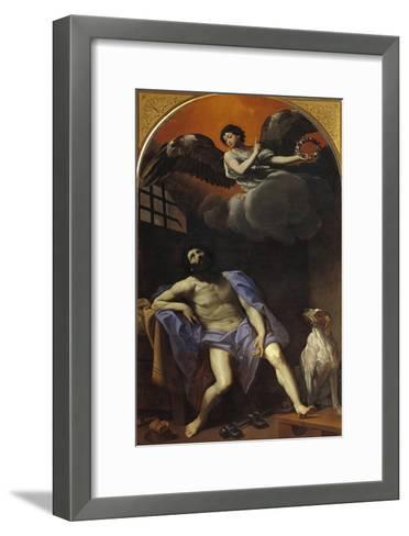 St Roch in Prison-Masaccio-Framed Art Print