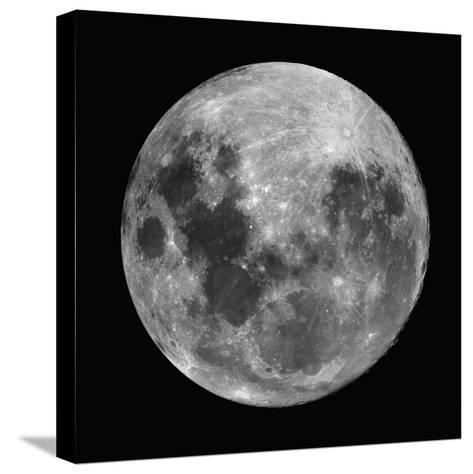 Full Moon-Robert Gendler-Stretched Canvas Print