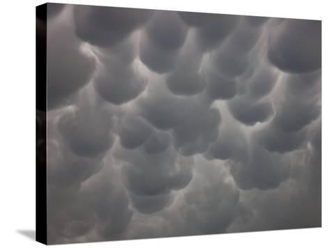 Mammatus in Central Nebraska-Charles Doswell-Stretched Canvas Print