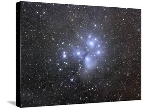 M45, the Seven Sisters or Pleiades-Matthew Russell-Stretched Canvas Print
