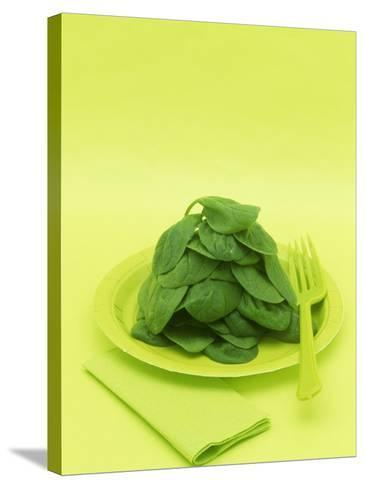 Spinach-Wally Eberhart-Stretched Canvas Print