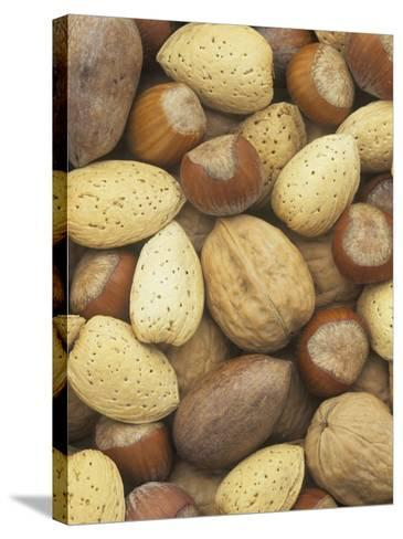 Nuts, Pecan, Walnut, Hazel and Almond-Wally Eberhart-Stretched Canvas Print