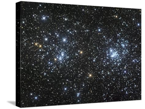 Double Star Clusters Ngc 884 and Ngc869-Robert Gendler-Stretched Canvas Print