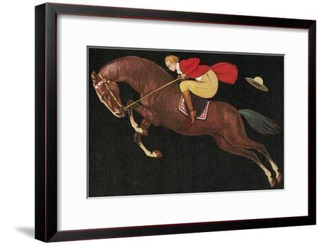 English Jumper--Framed Art Print