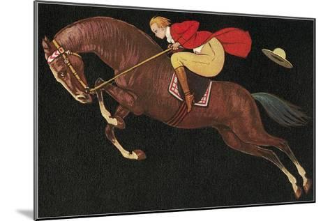 English Jumper--Mounted Art Print