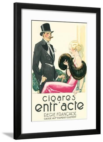 French Aristocrats on the Town--Framed Art Print