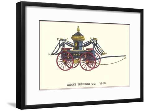 Hope Engine Vintage Fire Wagon--Framed Art Print