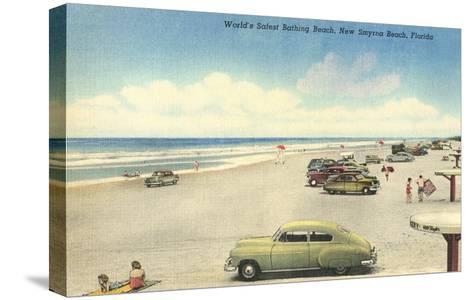 New Smyrna Beach--Stretched Canvas Print