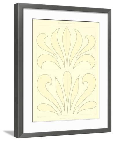 Stylized Russian Fleur de Lis--Framed Art Print