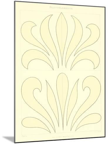 Stylized Russian Fleur de Lis--Mounted Art Print
