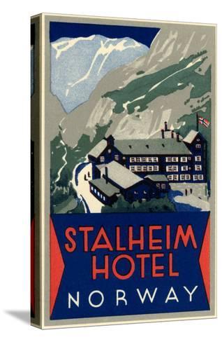 Stalheim Hotel, Norway--Stretched Canvas Print