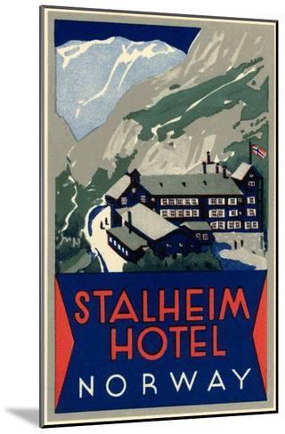 Stalheim Hotel, Norway--Mounted Art Print