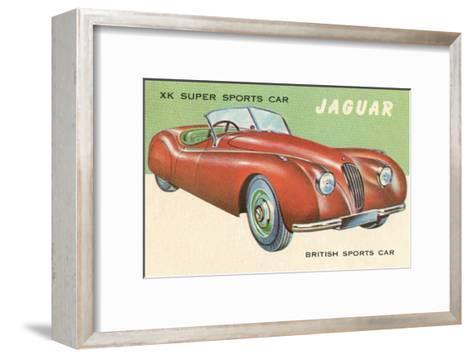 Super Sports Car--Framed Art Print