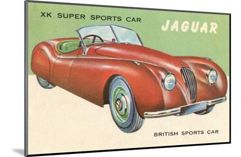 Super Sports Car--Mounted Art Print