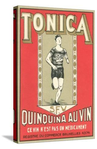 Tonica, Belgian Quinine Wine--Stretched Canvas Print