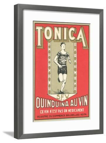 Tonica, Belgian Quinine Wine--Framed Art Print