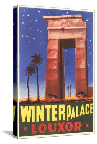 Winter Palace, Luxor, Egypt--Stretched Canvas Print