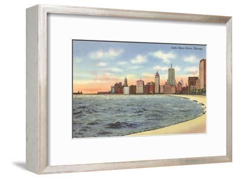 Lake Shore Drive, Chicago, Illinois--Framed Art Print