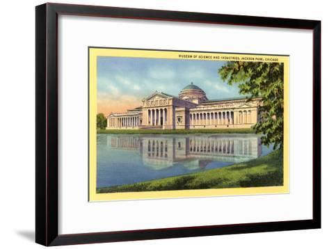 Museum of Science and Industries, Chicago, Illinois--Framed Art Print