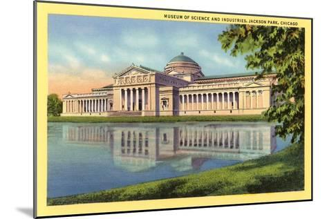 Museum of Science and Industries, Chicago, Illinois--Mounted Art Print