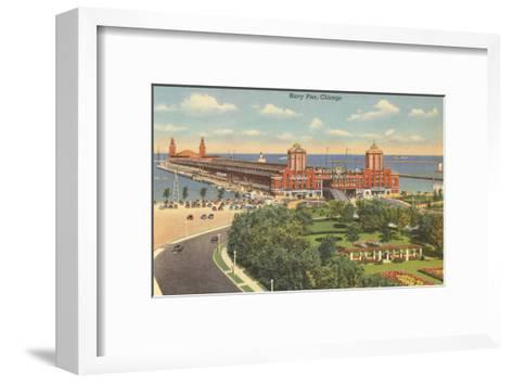 Navy Pier, Chicago, Illinois--Framed Art Print