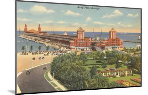 Navy Pier, Chicago, Illinois--Mounted Art Print