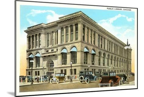 Library,Chicago, Illinois--Mounted Art Print