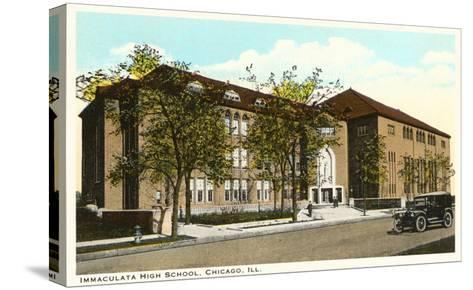 Immaculata High School, Chicago, Illinois--Stretched Canvas Print