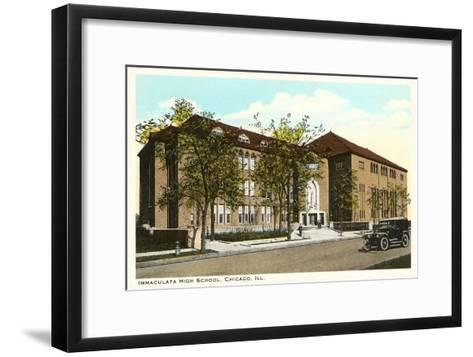 Immaculata High School, Chicago, Illinois--Framed Art Print