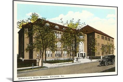 Immaculata High School, Chicago, Illinois--Mounted Art Print