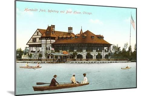 Boat House, Refectory, Humboldt Park, Chicago, Illinois--Mounted Art Print