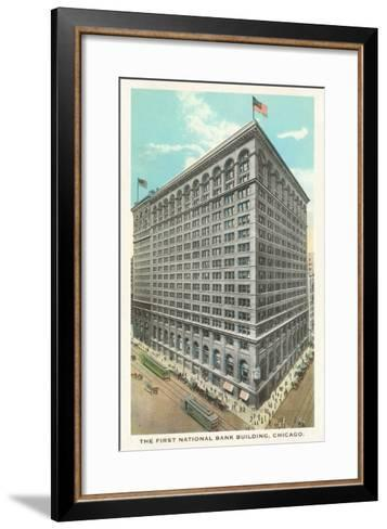 First National Bank Building, Chicago, Illinois--Framed Art Print