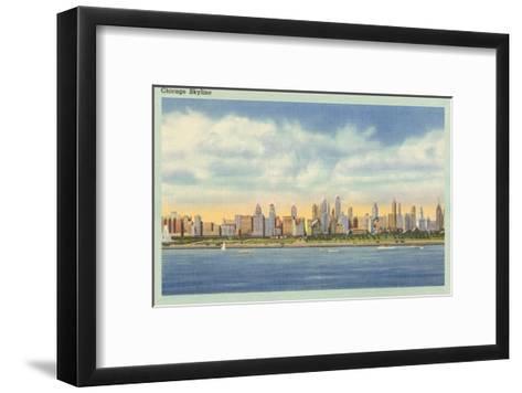 Skyline, Chicago, Illinois--Framed Art Print