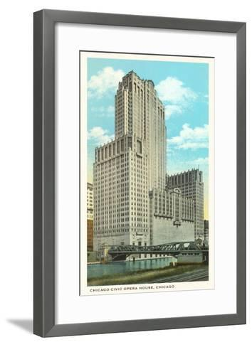 Civic Opera House, Chicago, Illinois--Framed Art Print