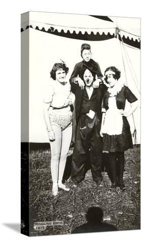 Circus Performers, Ringling Brothers, 1915--Stretched Canvas Print