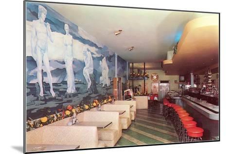 Cocktail Lounge--Mounted Art Print