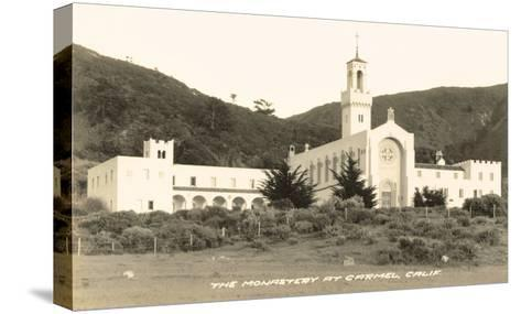 Carmel Monastery, California--Stretched Canvas Print