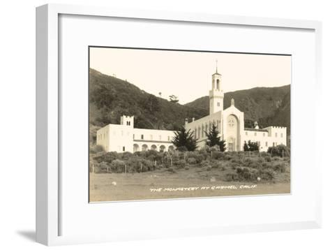 Carmel Monastery, California--Framed Art Print