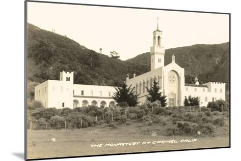 Carmel Monastery, California--Mounted Art Print