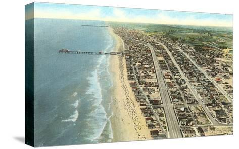 Hermosa Beach, California--Stretched Canvas Print
