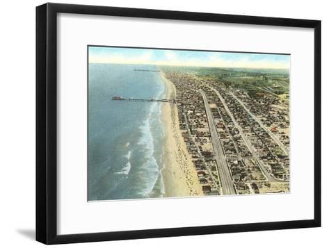 Hermosa Beach, California--Framed Art Print