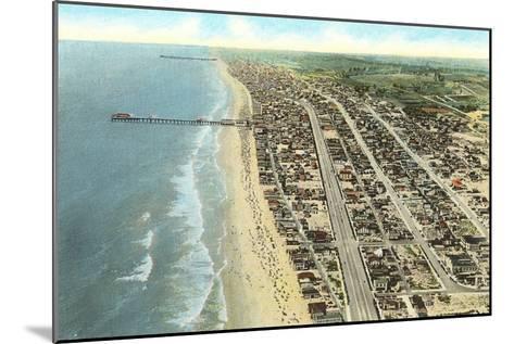 Hermosa Beach, California--Mounted Art Print