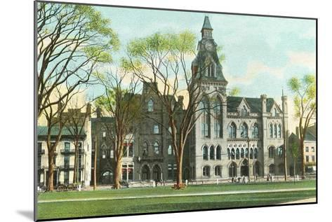 Courthouse, New Haven, Connecticut--Mounted Art Print
